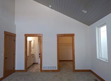 Master Bedroom with Arts and Craft Trim and Tongue & Groove Ceiling in Ann Arbor II